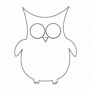 free owl template coloring pages With owl printable template