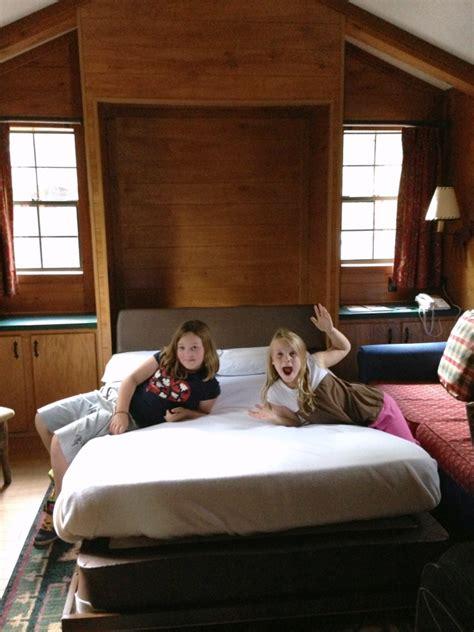 wilderness fort cabins disney bed murphy room cabin living walt quiet craving