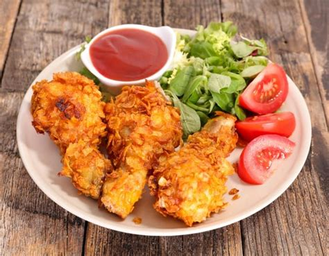 chicken fried panko legs fryer air recipe pan crispy