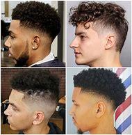 Curly Top Fade Haircut