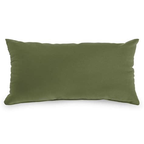spectrum cilantro sunbrella outdoor throw pillows on sale