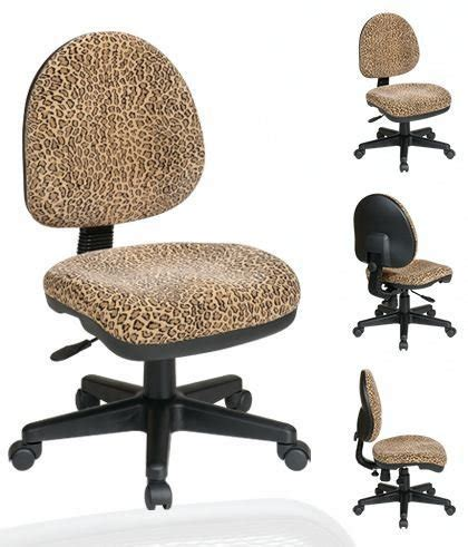 animal print desk chair osp work smart dh3400 245 bobcat animal print office task
