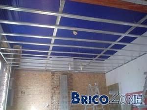 Faux Plafond Autoportant : faux plafond ~ Nature-et-papiers.com Idées de Décoration