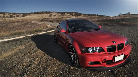 Bmw E46 Red, Hd Cars, 4k Wallpapers, Images, Backgrounds