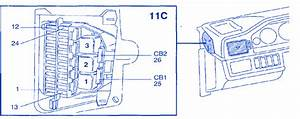 Volvo 960 1996 Fuse Box  Block Circuit Breaker Diagram