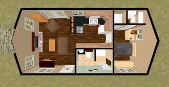 free home plans cozyhomeplans small house floor plan 480 sq ft quot shoe b