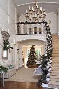 Décoration D Escalier Intérieur : no l d co escalier ornements magnifiques pour l 39 int rieur ~ Nature-et-papiers.com Idées de Décoration