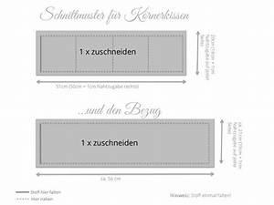Stuhlhussen Selber Nähen : anleitung k rnerkissen selber machen bzw n hen ~ Indierocktalk.com Haus und Dekorationen