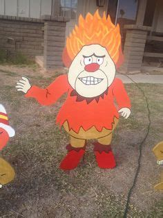 snow miser  heat miser christmas yard decorations yard