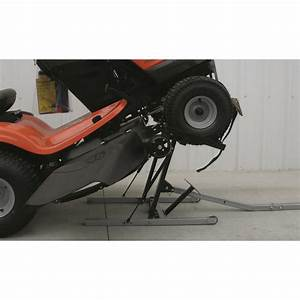 Shop Tuff Manual Lawn Mower Lift