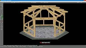 Pavillon Aus Holz Selber Bauen : pavillon typ 6e1 g youtube ~ A.2002-acura-tl-radio.info Haus und Dekorationen