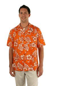 neon paradise men hawaiian shirts