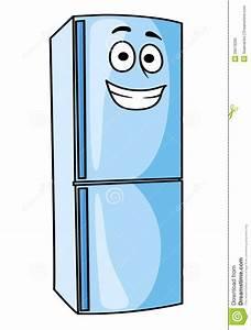 Fridge-freezer Or Refrigerator Kitchen Appliance Stock Vector