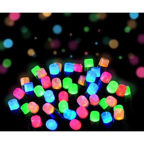 frosted led multi coloured lights outdoor