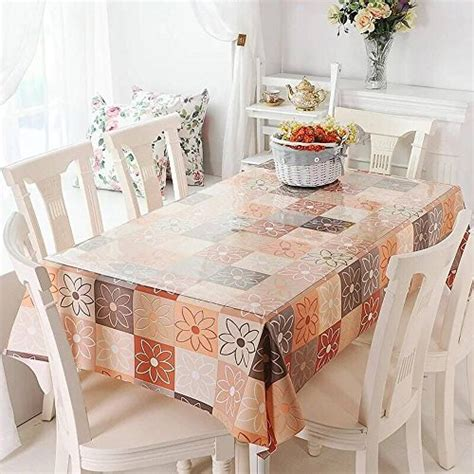 dining room table protector clear ostepdecor custom 2mm thick crystal clear dining room