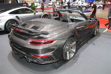 Porsche 991.2 Turbo S Stinger Gtr Carbon Edition 2/3 Par