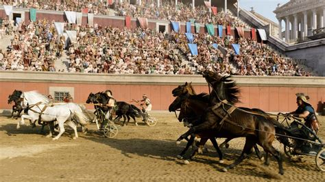 brot und spiele wagenrennen im alten rom zdfmediathek