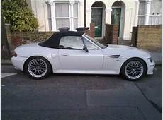 BMW Z3 transformation Black to White Respray YouTube