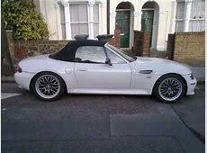 BMW Z3 transformation Black to White Respray YouTube
