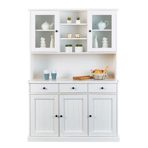 credenza per cucina moderna credenza con vetrinetta classica in legno massello di pino