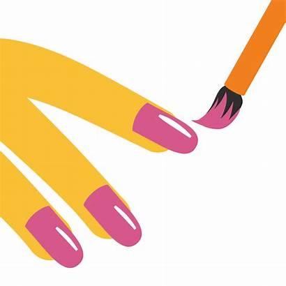 Emoji Clipart Manicure Svg Nail Polish Transparent