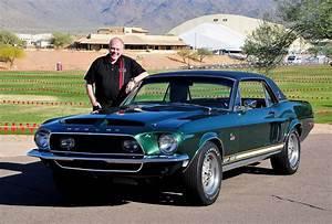"The Historic ""Green Hornet"" 1968 Ford Mustang Shelby EXP 500 Headed for a Historically-Correct ..."