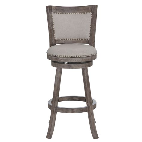 park avenue beige linen counter stool 16294551