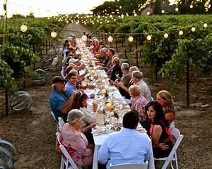 LoCA Lifestyle, Vineyard Dinner. Courtesy Randy Caparoso ...