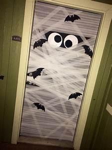 Halloween, Door, Decoration, Mummy, Diy, Halloween