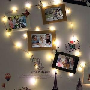 Guirlande Deco Chambre : 1001 id es pour une guirlande lumineuse pour chambre d co chambre cocoon ~ Teatrodelosmanantiales.com Idées de Décoration