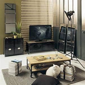 Meuble De Maison : 47 id es d co de meuble tv ~ Teatrodelosmanantiales.com Idées de Décoration