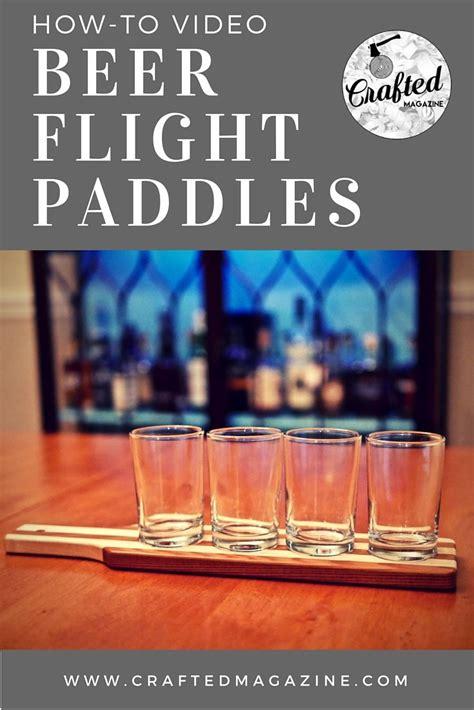 build  beer  whisky flight paddle beer flight