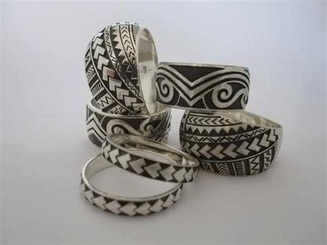 polynesian rings accesories polynesian wedding samoan