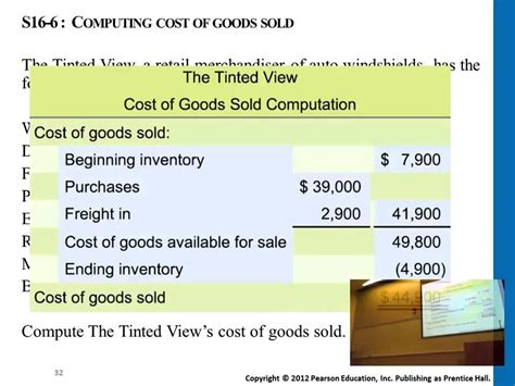 how to compute the cost of goods sold youtube
