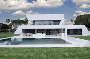 beautiful all white house with pool With beautiful maison toit plat en l 7 maison de ville avec piscine toit plat