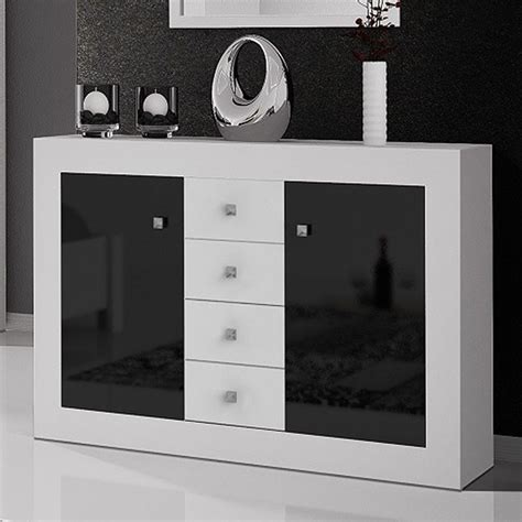 commode blanc et noir laqu 233 design meubles chambre adulte en 2019 bathroom lighting