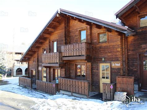chalet for rent in les deux alpes iha 15217
