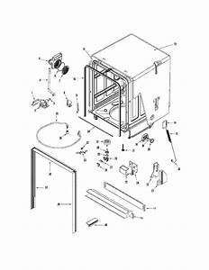 Frigidaire Pld4460rec Dishwasher Parts