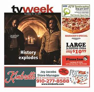 Laurinburg TV Week 12/16-22/17 | Laurinburg Exchange