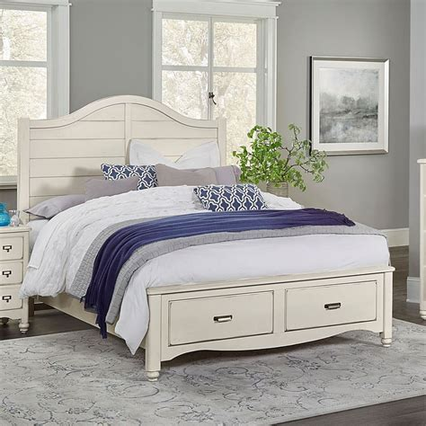 Shiplap Bed by American Maple Shiplap Storage Bed Dusky White Vaughan
