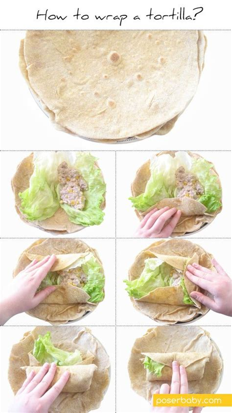 How To Wrap A Tortilla Sandwich Wrap  Recipes To Try