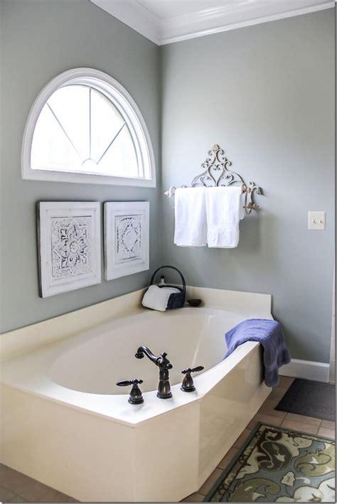 silver sage master bathroom makeover favorite paint
