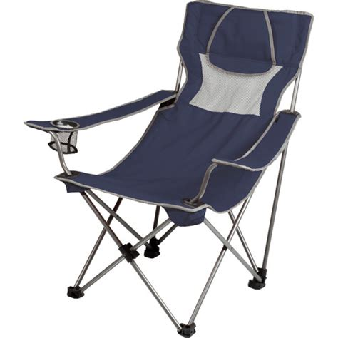 Picnic Time Portable Reclining C Chair Navy by Picnic Time Csite Chair Navy Gray 806 00 138 000 0 B H