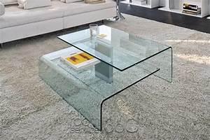 harrow italian contemporary glass coffee table modern With all modern glass coffee table