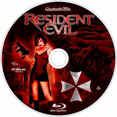 Resident Evil Fanart Disc Tv Bluray Save