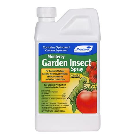 monterey garden insect spray monterey garden insect spray w spinosad pint growgiant