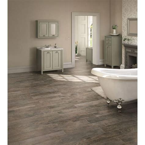 home depot flooring bathroom marazzi montagna rustic bay 6 in x 24 in glazed porcelain floor and wall tile 14 53 sq ft