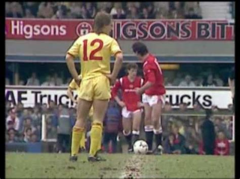 Man Utd v Liverpool - 1985 FA Cup Semi-Final - YouTube