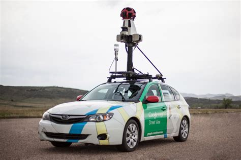 Google Street View Cars Are Eyes On The Ground For Urban