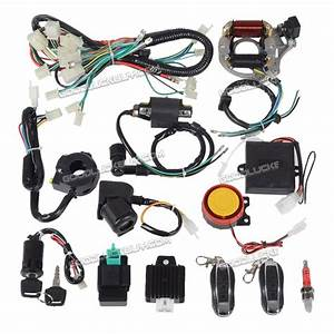Cdi Wiring Harness 50cc 70cc 110cc 125cc   Remote Start
